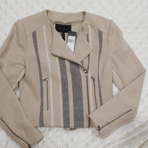 BCBG MAXAZRIA HOLDEN Striped Jacket